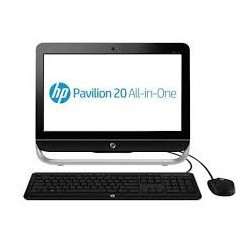 HP Pavilion All In One 20-2010L LCD 20 in No Touch Screen Pentium J2900 DOS