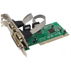 PCI IO CARD 1 LPT port  2 Serial DB-9 port