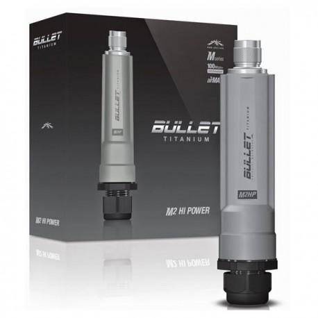 Ubiquiti Bullet M2 Titanium (BM2-TI) 2.4ghz Peer-to-Peer (P2P) Bridge