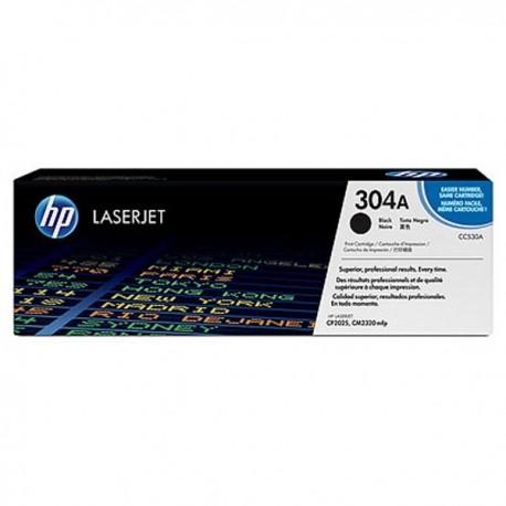 Toner CC530AC For HP Color LaserJet CP2025 Contract Black Crtg