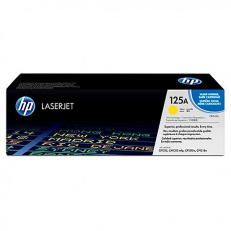 Toner CB542A For HP LaserJet CP1215/1515 Yellow Crtg