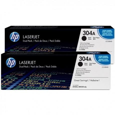 Toner CC530AD For HP Color LaserJet CP2025 Dual Pack Crtg