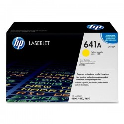 Toner C9722A For HP CLJ 4600 4650 Yellow Print Cartridge