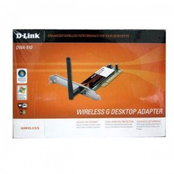 D-Link DWA-510 54 Mbps Wireless PCI Adapter