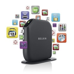 BELKIN F7D3402SA Share Wireless N300 ADSL Modem Router USB Port