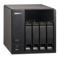 QNAP TS-412 - 2 x WD Red 3TB