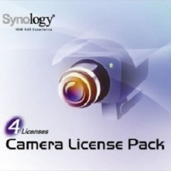 Synology Accessories 4-Camera License Pack - SYNO-CAM-LIC4