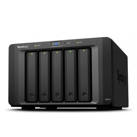 Synology DX513 Accessories 5-Bay Expansion for DS1812/DS1512/DS712