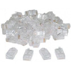 AMP Connector RJ-45 Cat 5 isi 50pcs