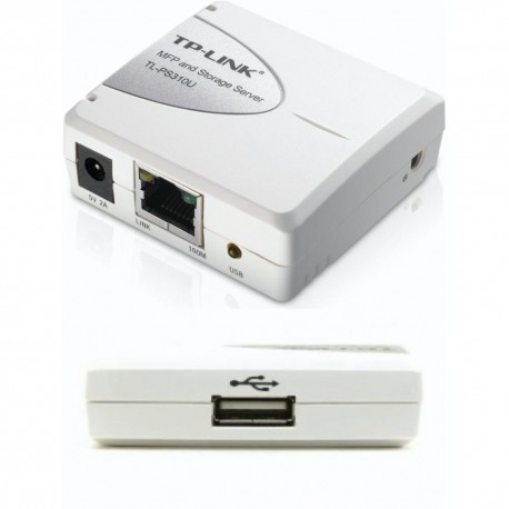 TP Link Printserver 1 Port USB Multi Function TL-PS310U
