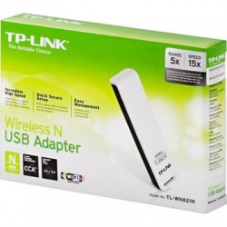 TP-LINK TL-WN821N 300 Mbps Wireless N USB Adapter 2 Antenna