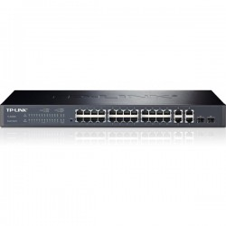 TP-Link TL-SL2428 24-Port 10/100Mbps + 4-Port Gigabit Smart Switch