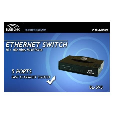 Blue Link BL-S95 Switch 5 Port 10/100 Mbps