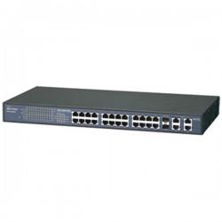 Airlive FSH2402NT 19 Inch Unmanaged Switch 24 Port 10 100Mbps 2port Gigabit 1000Base-T