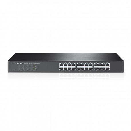 TP Link TL-SF1024 Switch 24 Port 10 100 RackMount Size 19 inch