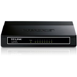 TP Link TL-SG1008D Switch 8 Port Gigabit 10 100 1000  Plastic Case
