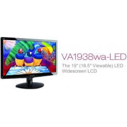 Viewsonic 18.5 Inch VA-1938WA LED