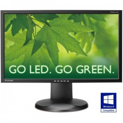 Viewsonic 23 Inch VP2365 LED-Analog DVI-Swivel 360-IPS Panel