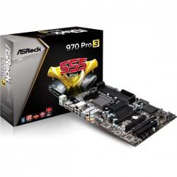 ASRock 970 Pro3 AM3 AM3 AMD 970FX USB3 SATA3 Front Panel USB3
