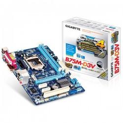 Gigabyte GA-B75M-D3V LGA1155 B75 DDR3 SATA 3