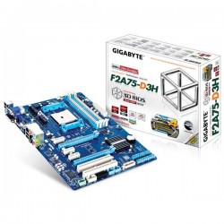 Gigabyte GA-F2A75-D3H FM2 AMD A75 DDR3