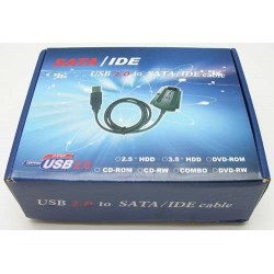 Cable USB to SATA & IDE*