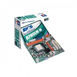 ECS A780LM-M AM3 AMD760G DDR3