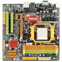 Biostar TA785G3 G3 HD AM3 AMD 785G DDR3