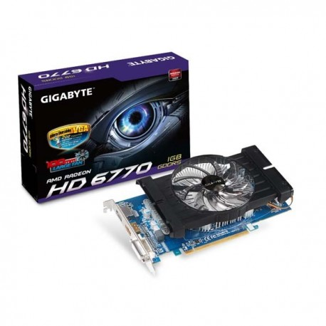 Gigabyte Radeon HD 6770 1GB DDR5 GV-R677D5-1GD