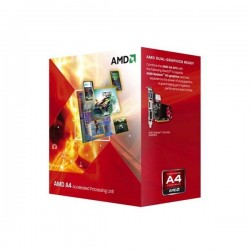 AMD A4-3300 Radeon HD6410D 2.5Ghz Cache 1MB 65W Socket FM1-AD3300OJGXBOX