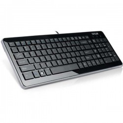 Delux DLK 2000 Ultra Slim Standard Keyboard