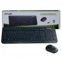 Delux DLK 3100 M388 Multimedia Keyboard Mouse Combo