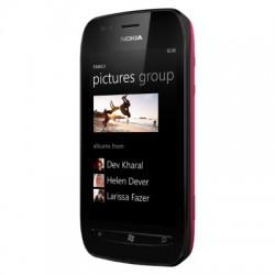 NOKIA Lumia 710 - Black Fuchsia