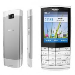 NOKIA X3-02 - White Silver