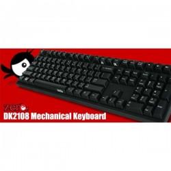 DK9008G2-RUSLLB 108keys Red switchEnglish version Laser Etched Printing
