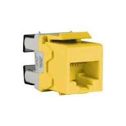 SCHNEIDER Modular Jack Cat.6 Yellow (DC6KYSTUYL)