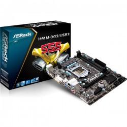 ASRock H61M-DG3/USB3 (LGA 1155, Intel H61, DDR3, USB3, SATA2)