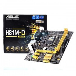 ASUS H81M-D (LGA1150, Intel H81, DDR3)