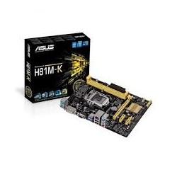 ASUS H81M-K (LGA1150, Intel H81, DDR3)