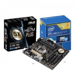 ASUS H97M-PLUS (LGA1150, Intel H97, DDR3)