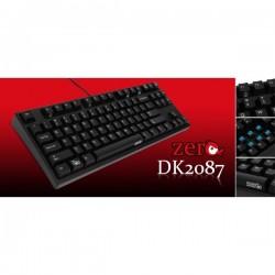 Ducky DK2087-RUSLLAB1 Zero TKL Red / Blue Led/ US/ Cherry MX / Tenkeyless