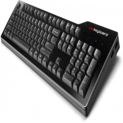 DasKeyboard DASK3MKPROCLI - Model S Professional - Tactile Click, Cherry MX Blue switches, 104-keys