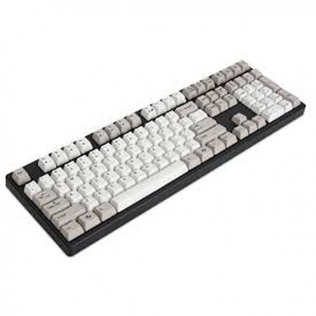 Ducky DK9008G2Pro-BUSPHU DYE SUBLIMATED VERSION Brown / English / PBT / Dye-Sublimated / gray&white color
