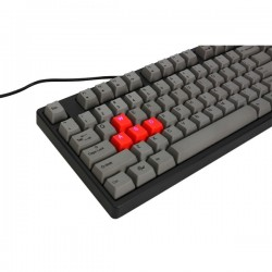 Ducky DK9008G2Pro-RUSPHH DYE SUBLIMATED VERSION Red / English / PBT / Dye-Sublimated / dark gray color