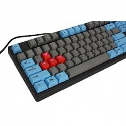 Ducky DK9008G2Pro-RUSPHS DYE SUBLIMATED VERSION Red / English / PBT / Dye-Sublimated / blue&gray color