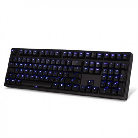 Ducky DK9008S2-RUSALP Shine II 108keys, Red switch,English version, Laser Etched Printing, Purple LED