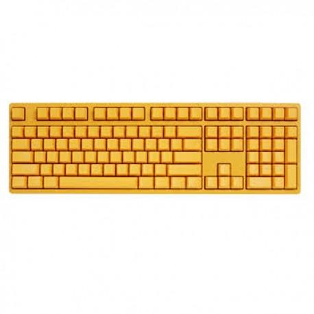 Ducky DK9008S3-QUSPTYYY1 Shine III Yellow Edition 108keys, Cherry switch, White base, Black keycaps, Yellow LED