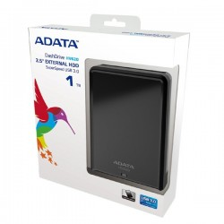 Adata AHV620-1TU3-CBK HV620 1TB USB 3.0 Hardisk External