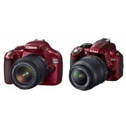 canon eos 1100d kit - red
