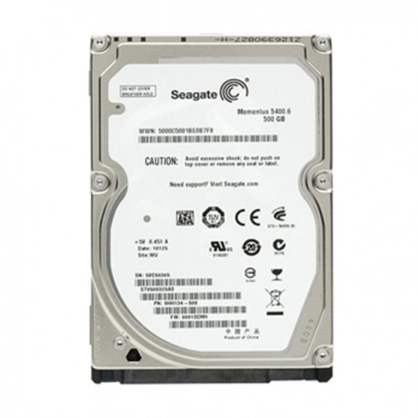 Seagate ST9500325AS 2.5' 500GB SATA 8MB 5400RPM Hardisk